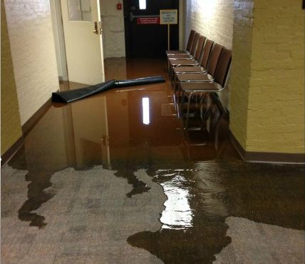 Flooded Courthouse